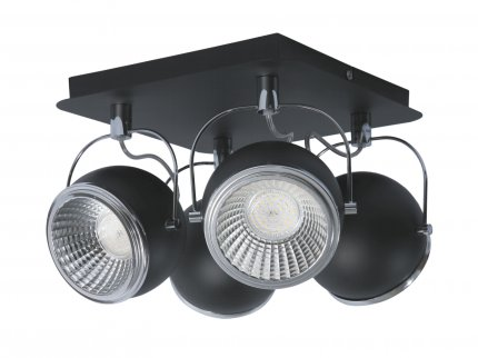 BALL LED plafon 4 x 5W GU10