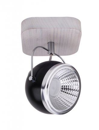 BALL WOOD LED reflektorek 1 x 5W GU10 LED